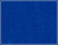 Blueprint background - stock illustration