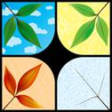 Stock Illustration of Leaves through the seasons