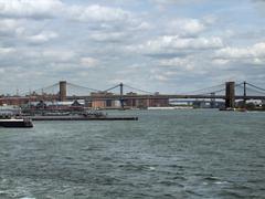 Stock Photo of around brooklyn bridge in new york