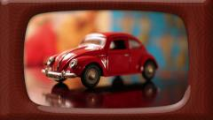 Volkswagen Bug | Retro '60s Visual - stock footage