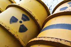 Radioakiv nuclear - stock photo