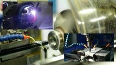 Stock Video Footage of metalwork equipment