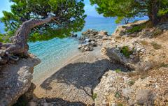 Stock Photo of makarska riviera , croatia
