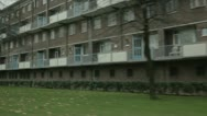 Stock Video Footage of Old flats in Arnhem