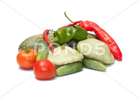Stock photo of vegetables.