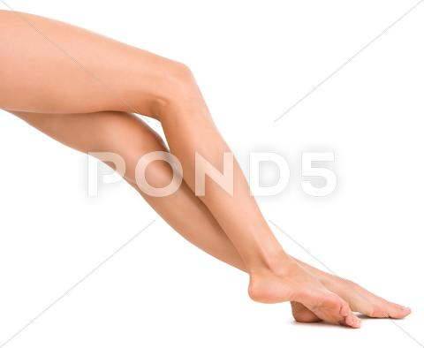Stock photo of beautiful female legs 2