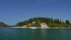 Croatian seaside Stock Footage
