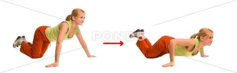 Stock Illustration of exercise 5