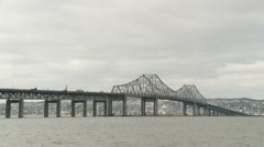 Tappan Zee Bridge Timelapse 2 Stock Footage
