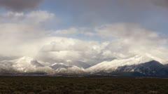 Taos Mountains Timelapse Stock Footage