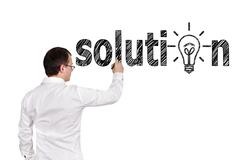 Stock Illustration of solution symbol
