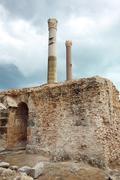 Stock Photo of Antonine Baths remains