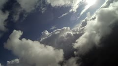 Flying through clouds 8.a Stock Footage