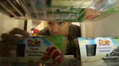 Refrigerator 4 Stock Footage