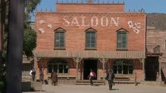 Wild west cowboys 7 Stock Footage