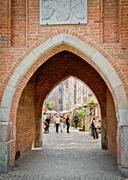 Historic city of gdansk Stock Photos