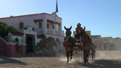 Wild west cowboys 2 Stock Footage