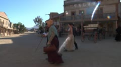 Wild west cowboys 3 Stock Footage