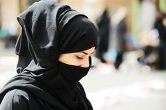 Stock Photo of muslim woman with veil