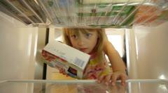 Refrigerator 1 Stock Footage
