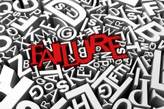 Failure Stock Illustration