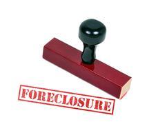 Stock Illustration of Foreclosure