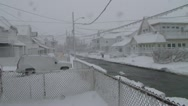 Blizzard Conditions Stock Footage