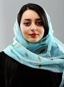 Middle eastern woman portrait Stock Photos