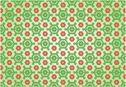 Flowered background Stock Illustration