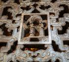 Chinese temple decor Stock Photos