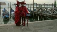 Venetian mask 62 Stock Footage