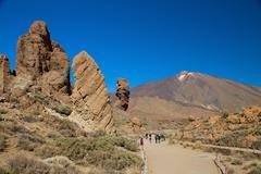 Mount teide, tenerife Stock Photos