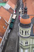 Maribor from above Stock Photos