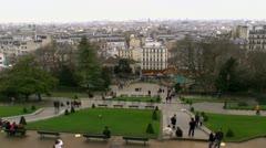 Paris France Park ED Stock Footage