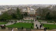 Stock Video Footage of Paris France Park