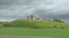 Rock of Cashel, Tipperary, Ireland. Stock Footage