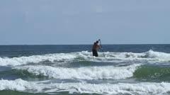 Ocean and beach Stock Footage