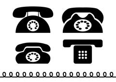 phone - stock illustration