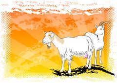 Goat Stock Illustration