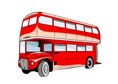bus - stock illustration