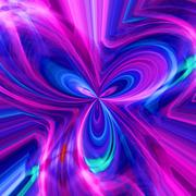abstract background with a multi-coloured pattern - stock illustration