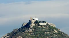 Lycabettus hill, Athens, Greece Stock Footage
