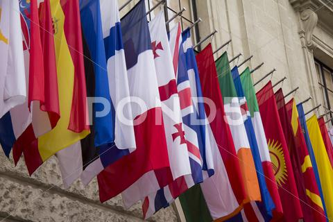 Stock photo of National flags