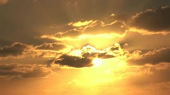 Sunset in Saint Martin Stock Footage