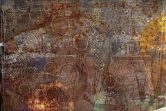 Stock Photo of Graffiti Rust