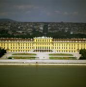 palace schonbrunn, vienna - stock photo