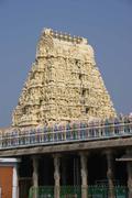 Stock Photo of shiva temple entrance