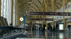 National Airport in Washington DC - stock footage