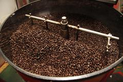 Coffee Bean Roaster Stock Photos
