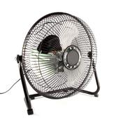 The black mini fan to reduce some hot weather Stock Photos